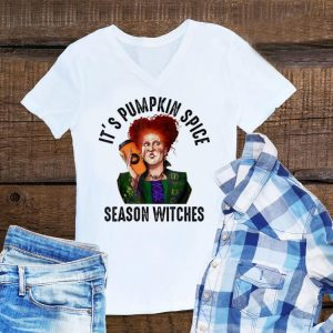 Aweome Hocus Pocus Winifred Sanderson It's Pumpkin Spice Season Witches shirt