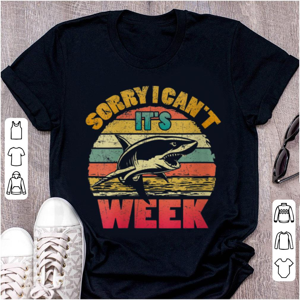 Awesome Sorry I Can t It s Week Shaek Vintage shirt 1 - Awesome Sorry I Can't It's Week Shaek Vintage shirt