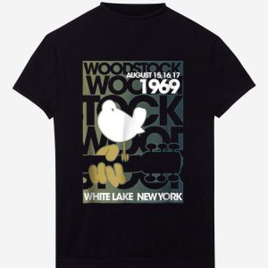 Awesome Woodstock August 1969 White Lake New York shirt
