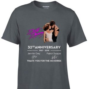 Dirty Dancing 32 Anniversary Thank You For The Memories Signature shirt