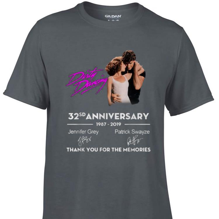 Dirty Dancing 32 Anniversary Thank You For The Memories Signature shirt 1 - Dirty Dancing 32 Anniversary Thank You For The Memories Signature shirt