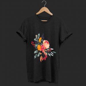 Hot Fall Colors Flowers shirt