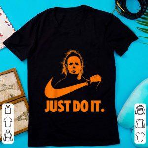 Hot Michael Myers Just Do It Nike Halloween shirt