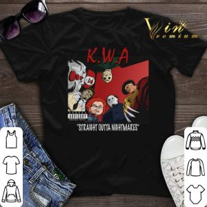 Killers With Attitude Straight Outta Nightmares shirt sweater