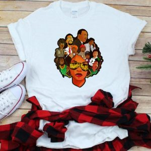 Nice Powerful Roots Black History Month I Love My Roots shirt