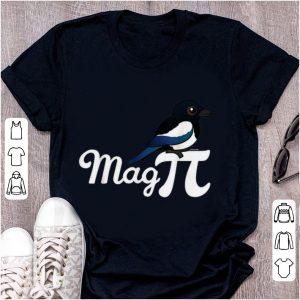 Official Magpie Mag PI Bird Plus Mathematical Constant shirt