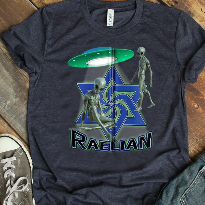 Official Raelian Ufo Alien Religion shirt 1 - Official Raelian Ufo Alien Religion shirt