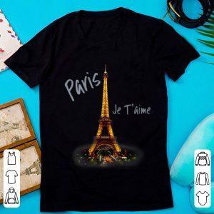 Original Eiffel Tower Paris Je T'aime I Love Paris France shirt