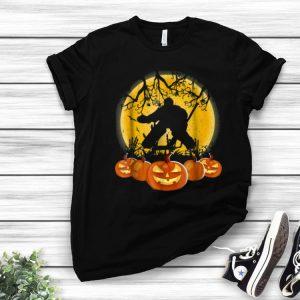 Original Hockey Goalie Pumpkin Halloween shirt