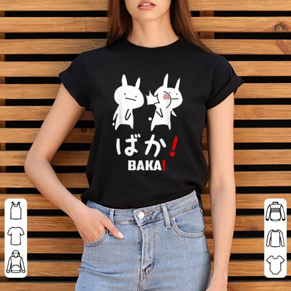 Original Kawaii Neko Baka Japanese Word shirt