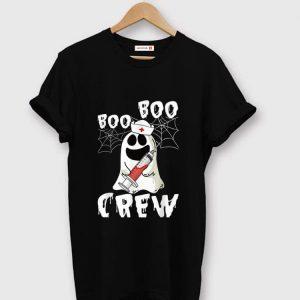 Premium Boo Boo Crew Nurse Ghost Halloween shirt