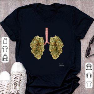Premium Lungs Marijuana Cannabis Buds shirt