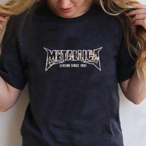 Premium Metallica Lengend Since 1981 shirt