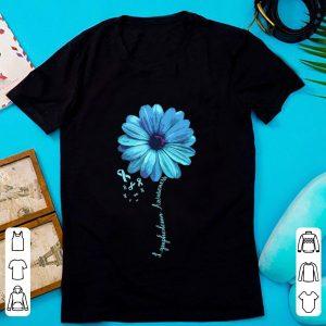 Pretty Lymphedema Awareness Floral Ribbon shirt