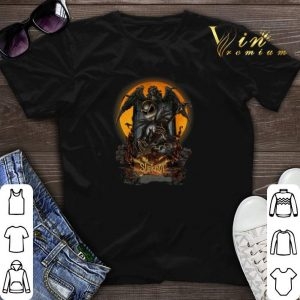 Slipknot Halloween Jack Skellington shirt