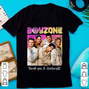 Top Boyzone Thank You & Goodnight 2019 Tour Merchandise shirt