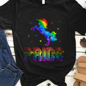 Top Pride Rainbow Unicorn LGBT Gay shirt