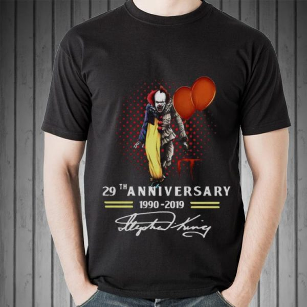 29th Anniversary 1990-2019 Pennywise IT Signatures shirt