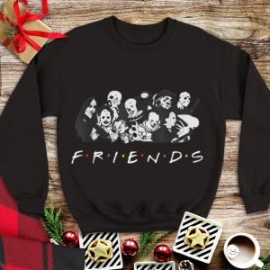 Awesome All Halloween Characters Friends shirt