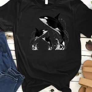 Awesome Killer Whale Jumping Orca Killer Whales shirts
