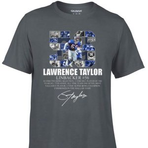 Awesome Lawrence taylor Linbacker 56 Signature shirt