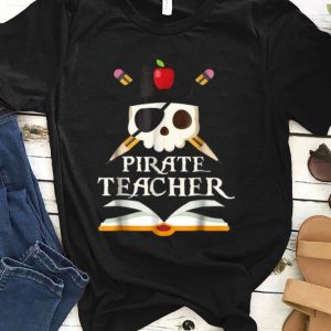Awesome Pirate Teacher For Halloween Costume shirt