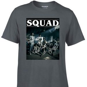 Awesome Squad Signatures Characters Stranger Things 3 shirt