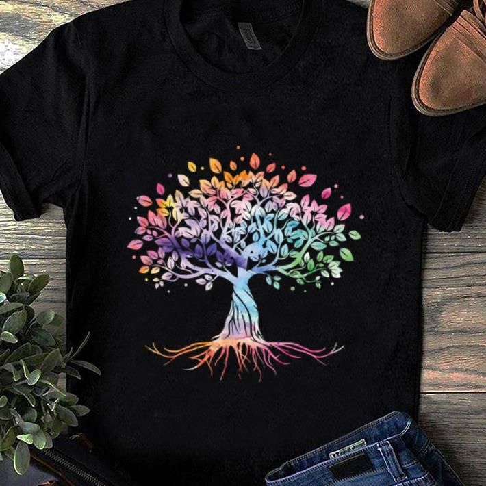 Awesome Unique Tree Colorful Life Is Really Good Vintage shirt 1 - Awesome Unique Tree Colorful Life Is Really Good Vintage shirt