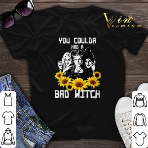 Halloween Sunflower You Coulda Had A Bad Witch Hocus Pocus shirt