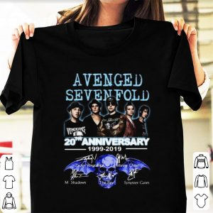 Hot 20th Anniversary 1999-2019 Signatures Avenged Sevenfold shirt