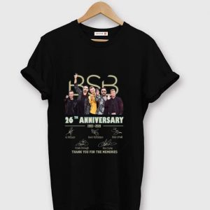 Hot 26 Years Of Backstreet Boys 1993-2019 Signature shirt