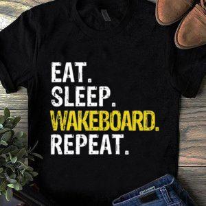 Hot Eat Sleep Wakeboard Repeat Gift shirt