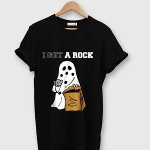Hot I Got A Rock Ghost Halloween shirt