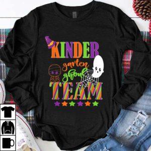Kindergarten Halloween Teacher Student Cute Ghoul Team shirt