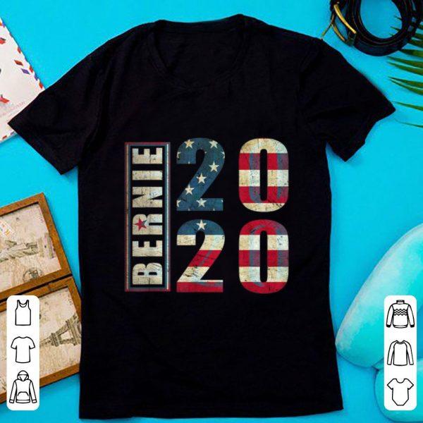 Nice Bernie 2020 American Flag shirt
