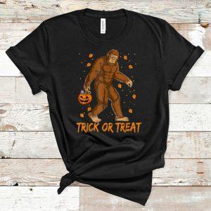 Nice Bigfoot Sasquatch Halloween Trick Or Treat shirts shirts