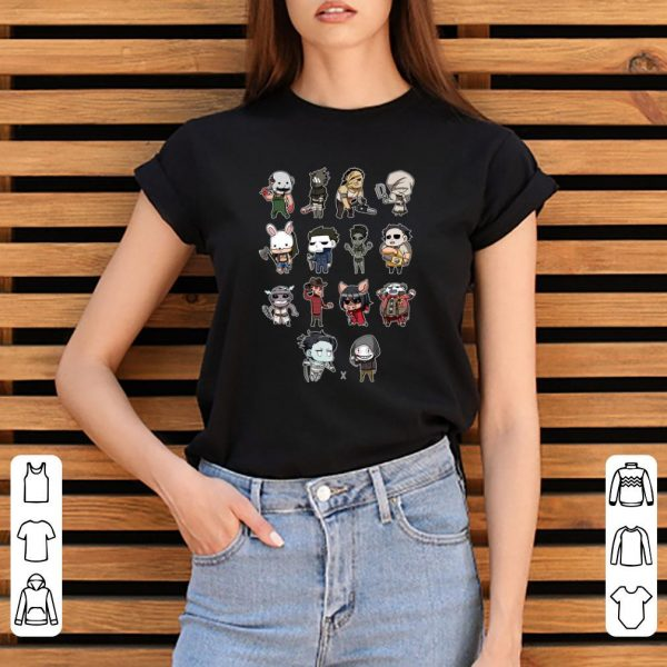 Nice Movie Horror Characters With Their Weapon shirt