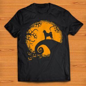 Nice Shiba Inu And Moon Halloween Costume shirts