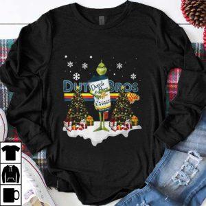 Official Christmas Tree Grinch Hug Dutch Bros Coffee shirt