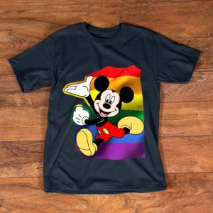 Official Disney Mickey Mouse LGBT shirt