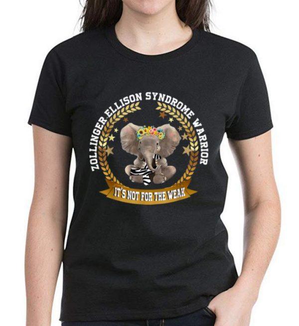 Official Elephant Zollinger-Ellison Syndrome Warrior Awareness shirt