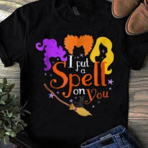 Official I Put A Spell On You Halloween Witch shirts