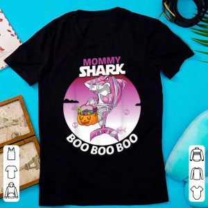 Official Mommy Shark Boo Boo Boo Family Shark Halloween shirt