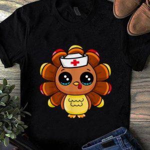 Official Thanksgiving Nurse Turkey Cute Family Gift Men Women Funny shirt