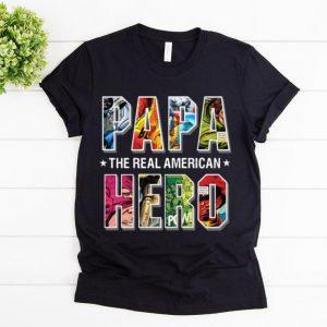 Official The Real American Hero Superheroes Papa shirt