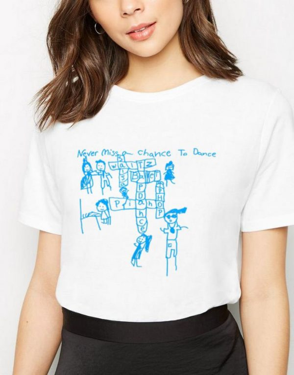 Original Never Miss a Chance to Dance Crossword puzzle shirt
