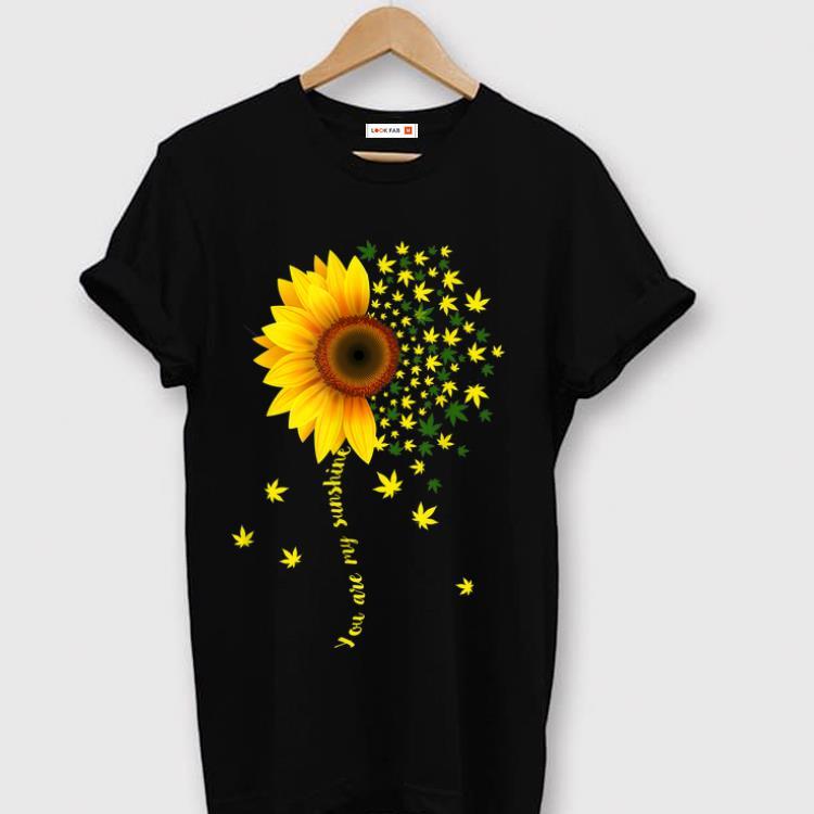 Original Sunflower Cannabis Weed Leaf Lover Marijuana shirt 1 - Original Sunflower Cannabis Weed Leaf Lover Marijuana shirt