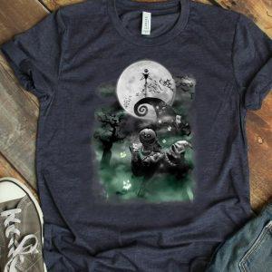 Original The Nightmare Before Christmas Haunted Scene Disney shirt