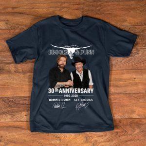 Premium Brooks & Dunn 30th Anniversary 1990-2020 Ronnie Dunn Signatures shirt