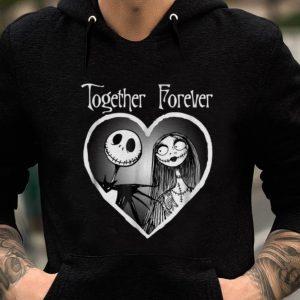 Premium Disney Jack Skellington And Sally Together Forever shirt